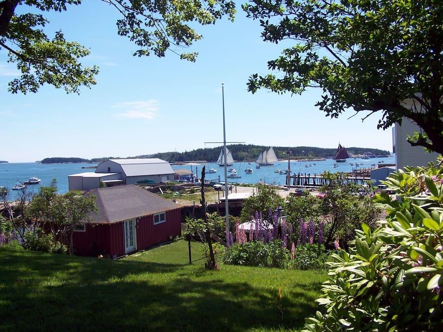 Overlooking Stonington Harbor