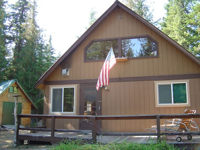 Sugarpine Cabin/Boatslip on Priest Lake