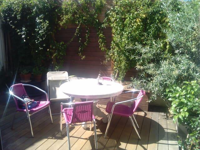 Maison 2 chambres + terrasse /proche centre ville - Perigny - Casa