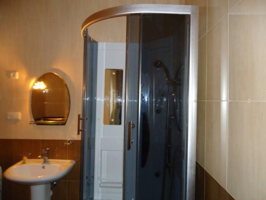 душ и ванная