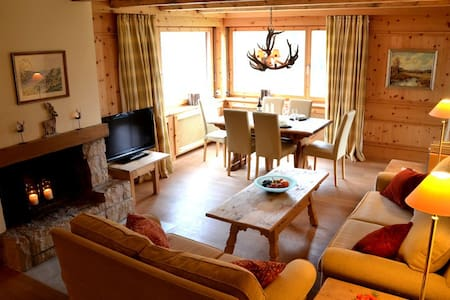 charming, chic with fantastic view - St. Moritz - Apartmen