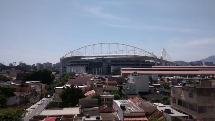 Apartment next to the Olympic Stadium