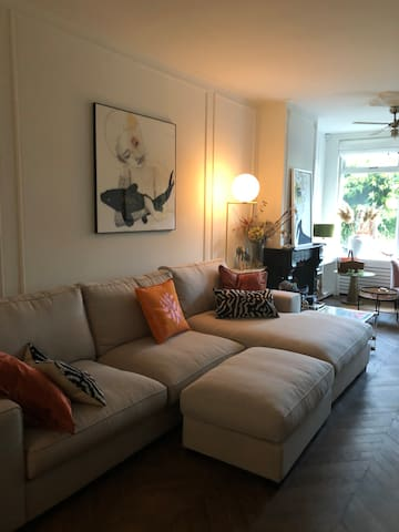 Spacious ecletic home near Amsterdam