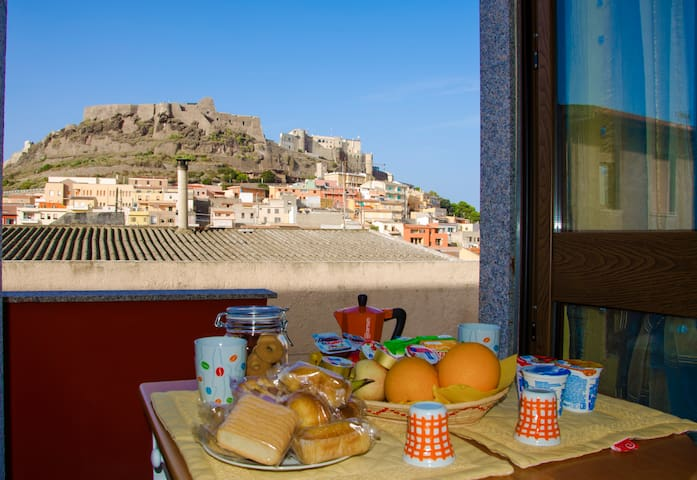 Camera BagnoPrivato & VistaCastello - Castelsardo - Bed & Breakfast