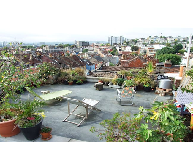 A cool place in Montpelier !  - Bristol - Rumah
