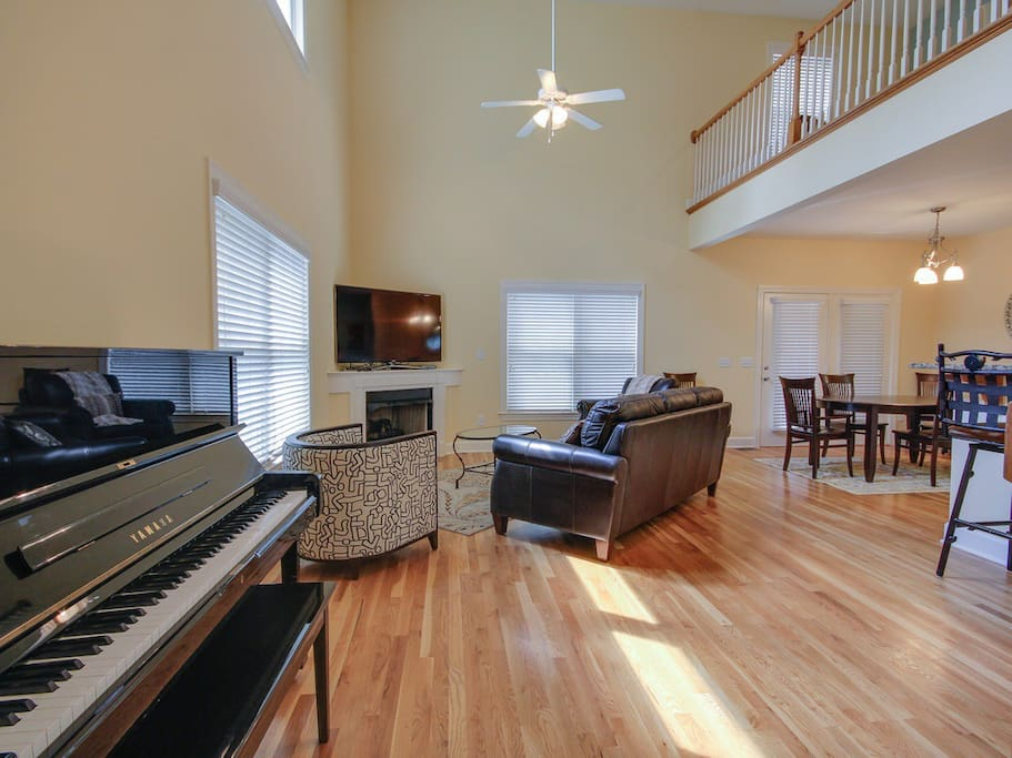 Coming to music city for music? Come play our beautiful piano!