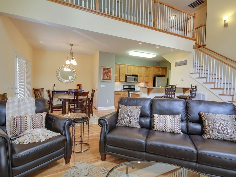 Gorgeous, open living area!