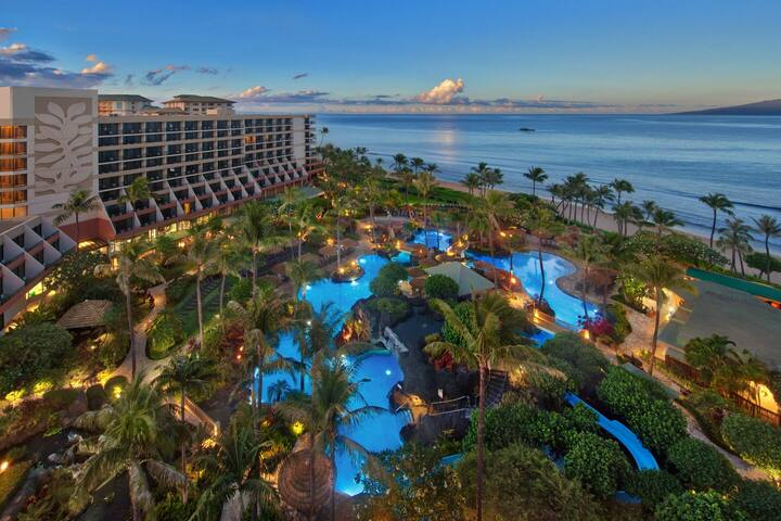 Marriott Maui Ocean Club 1 Bed/2bath Thanksgiving