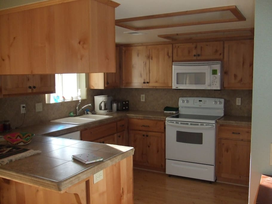 Fully equipped kitchen to meet your needs