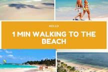 beach 1 minute walk - Playa de Bavaro