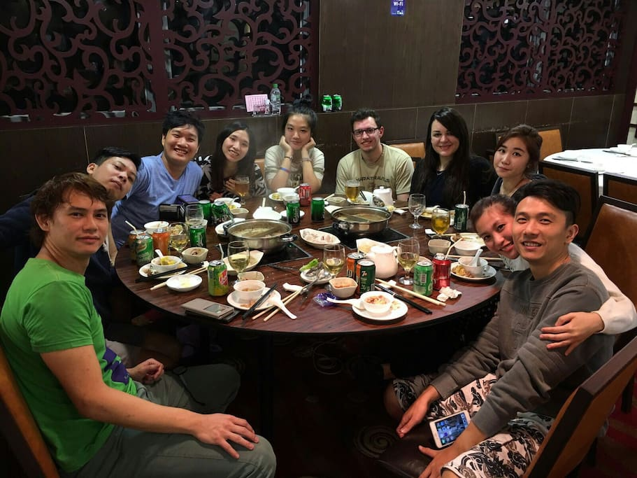 Hotpot together!