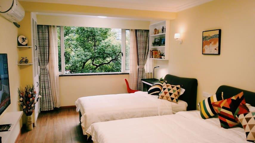 杭州西湖大道吴越人家 - Hangzhou - Apartment