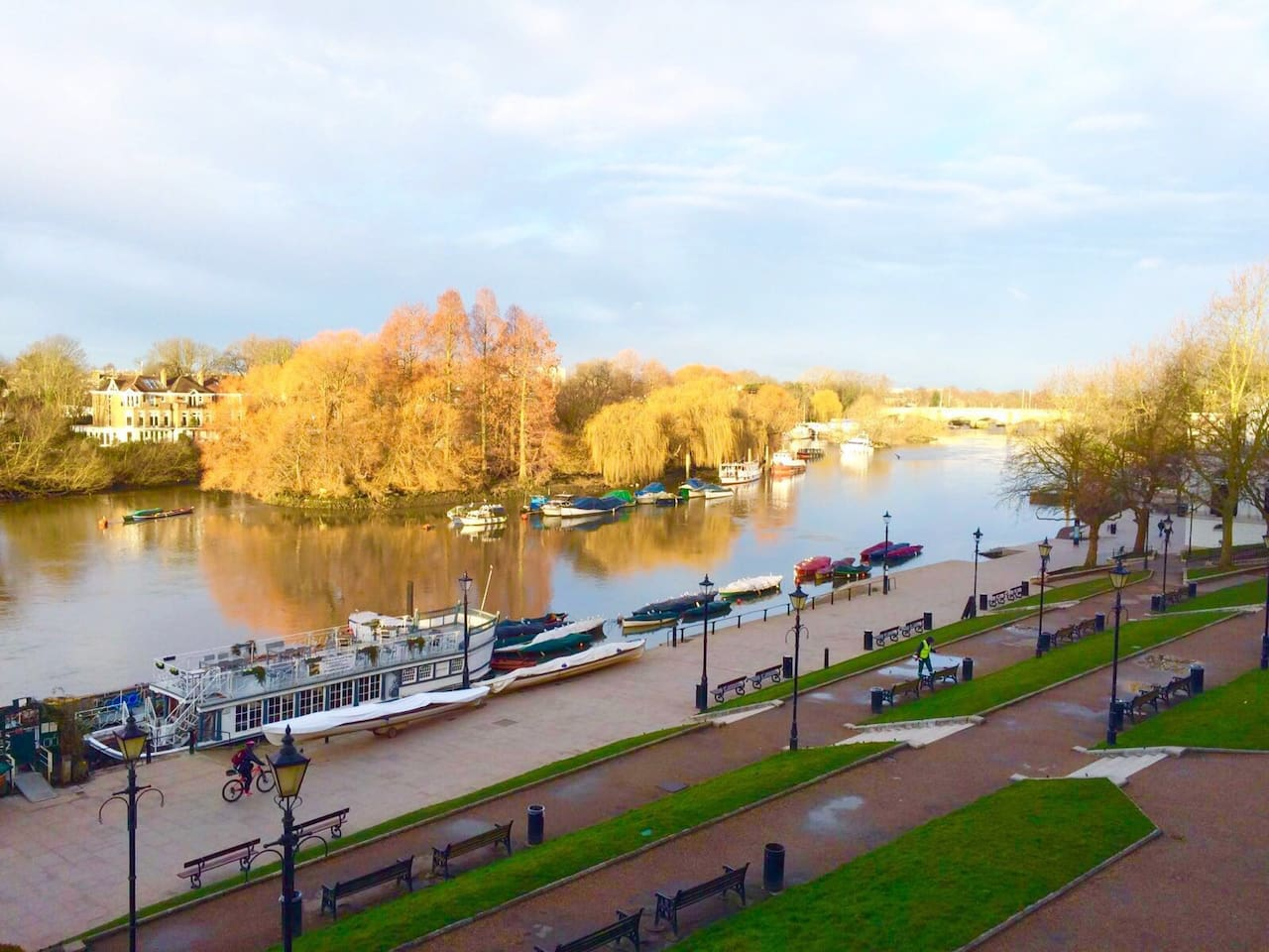 View of the Thames from the Apartment