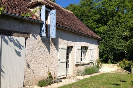 Cozy farmhouse near forest + river - Saint-Hilaire-sur-Benaize - Cabin