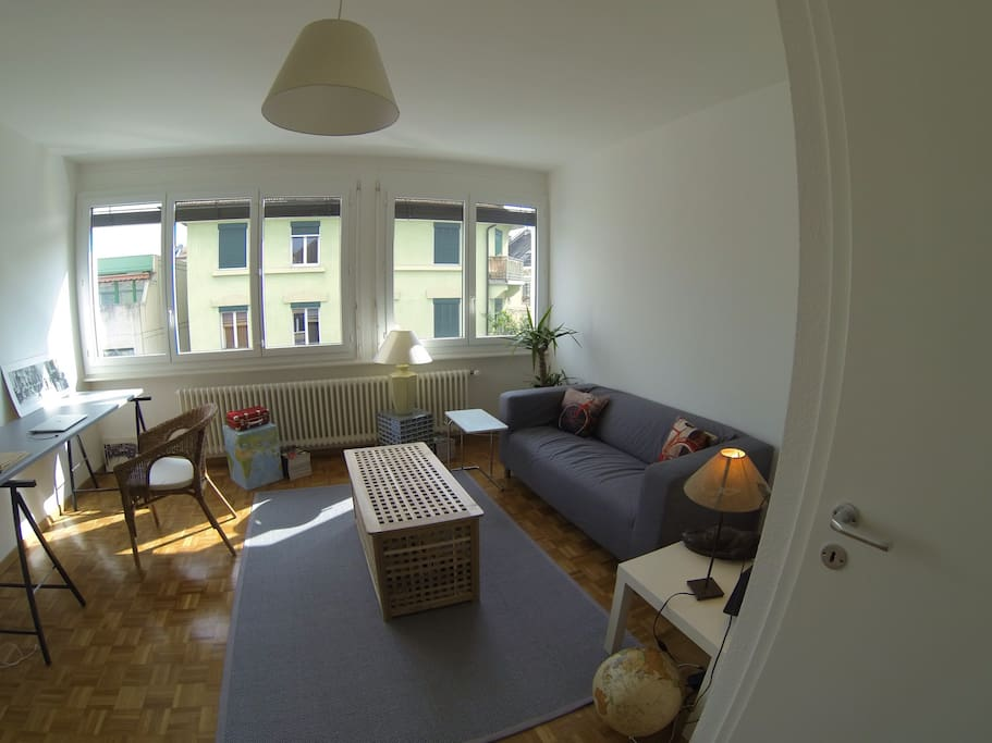 Great penthouse with ideal location appartements louer for Location appartement yverdon suisse