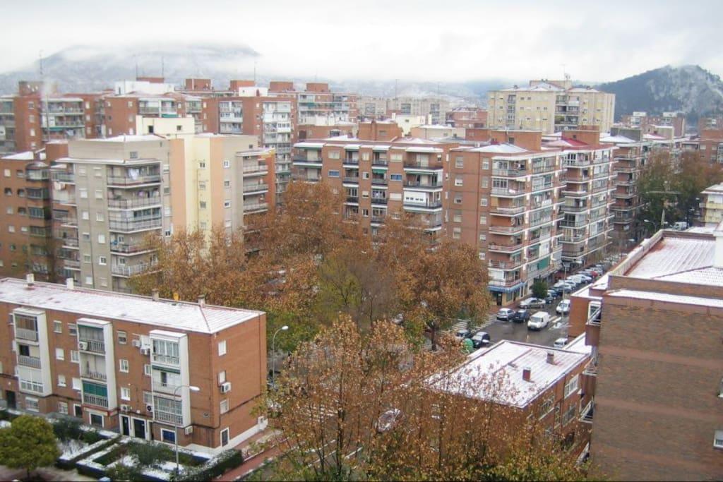Espectaculares vistas del horizonte de Alcalá