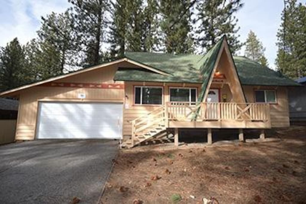 Tahoe cabin among the pines houses for rent in south Rent a cabin in lake tahoe ca