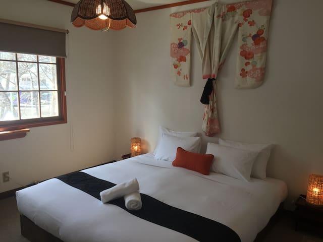 Lodge Blue Mount Hakuba, King/Twin/Triple Room 208