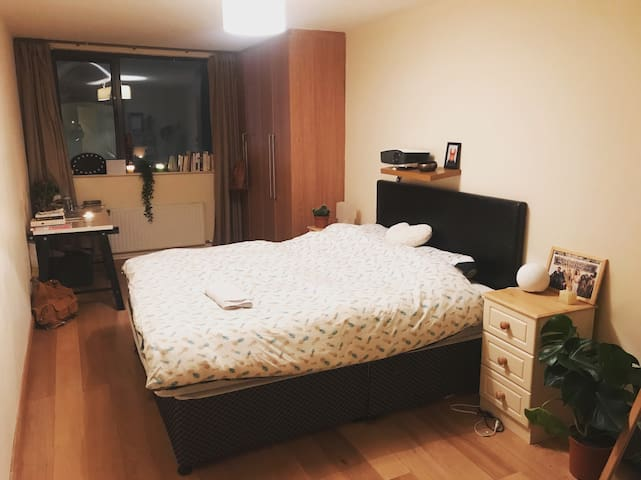 Spacious Bedroom in Grand Canal Docks