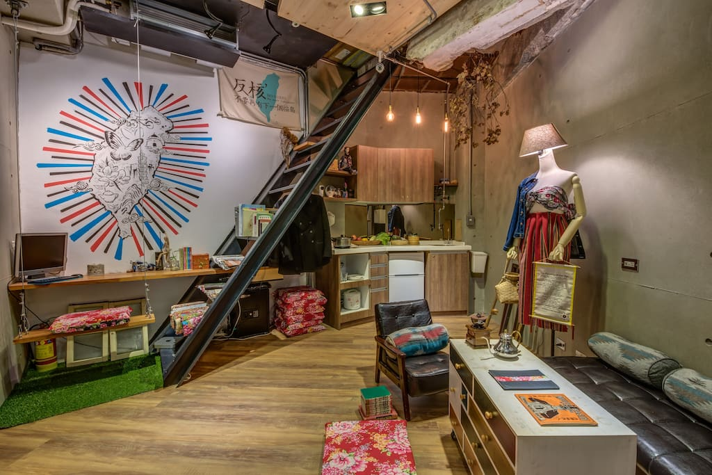 taipei hostel near Ximending and Taipei train station with great design.