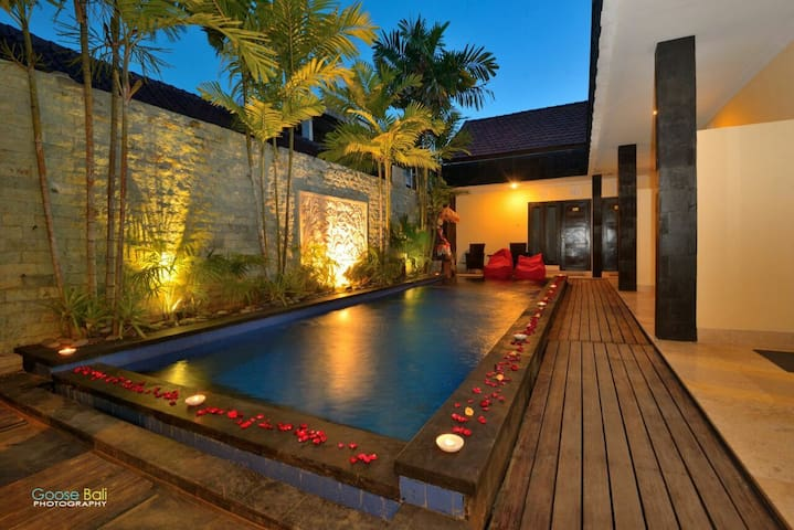 Deluxe Pool Side Room for long stay hotel in Bali