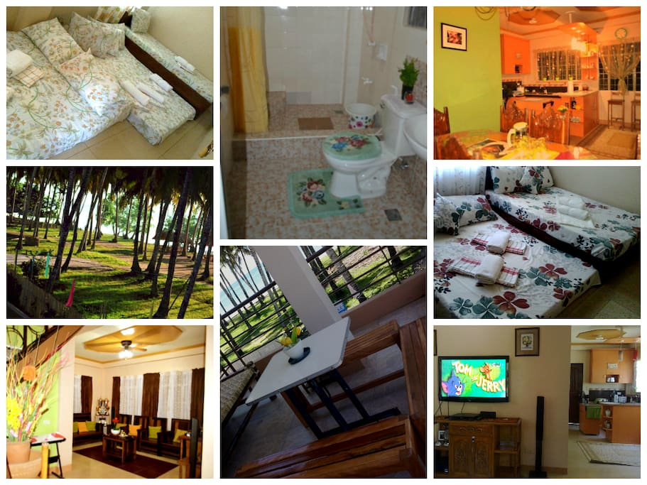 a homey , clean & comfortable place for your friends & family.