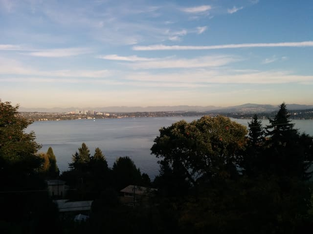 Spectacular view, great location. - Seattle - Talo