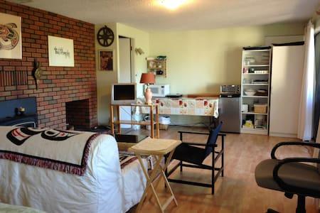 Garden suite Cowichan Bay - Apartment