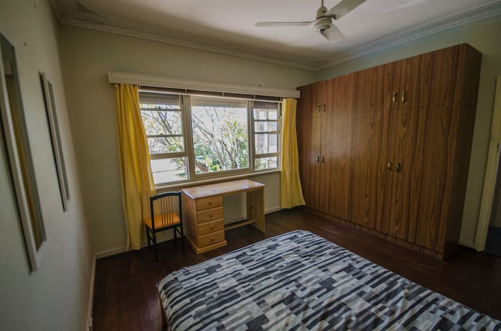 spacious and bright room