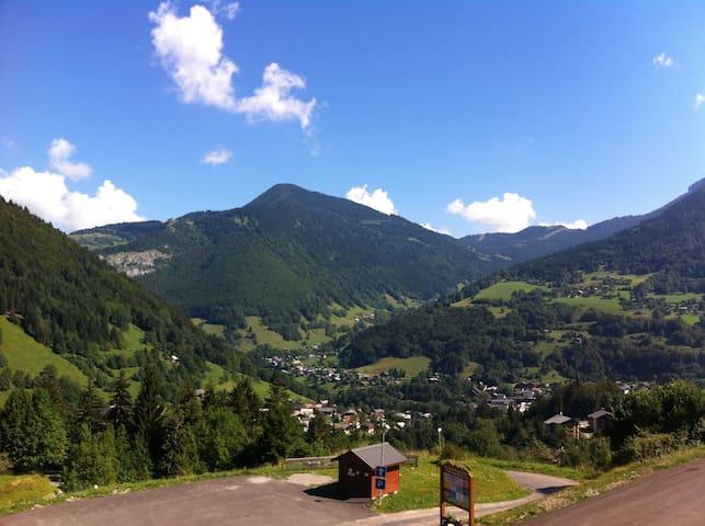 Alpine studio with stunning views! - Saint-Jean-d'Aulps - Leilighet