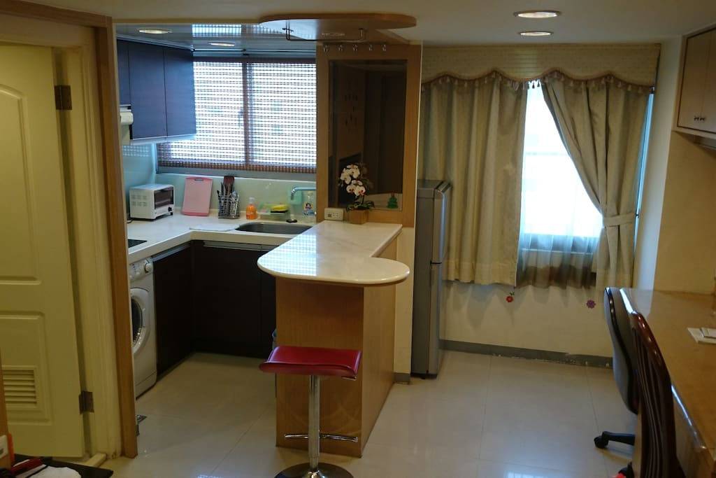 Kitchen and study