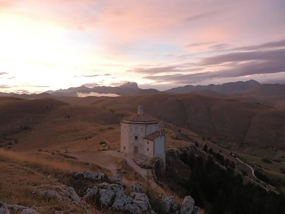 l'abbazia  della rocca