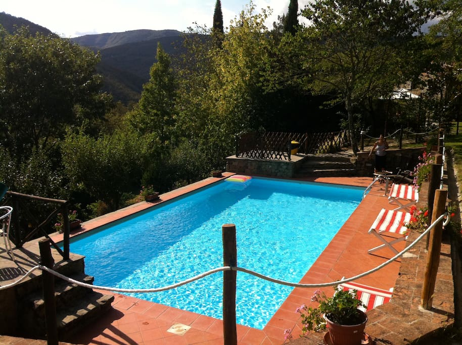 Swimming Pool: riservata agli ospiti della casa