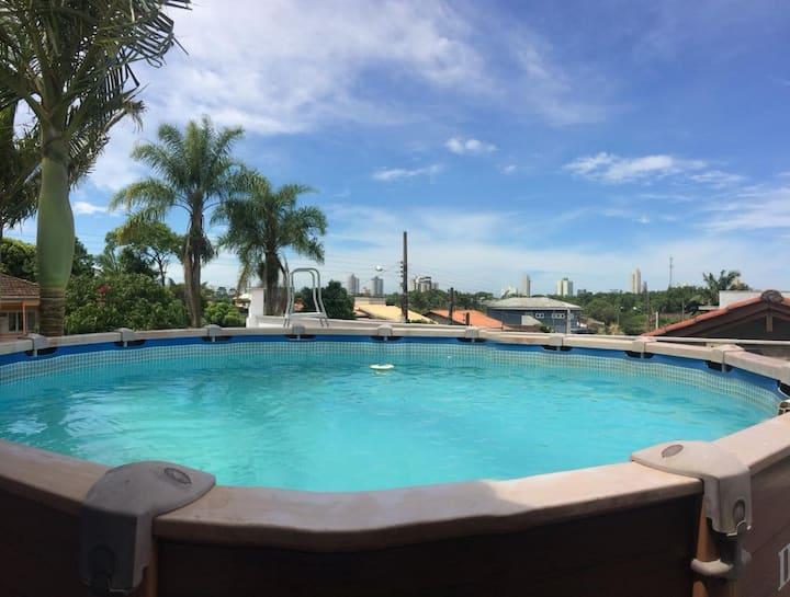 Casa com piscina em Balneário Piçarras