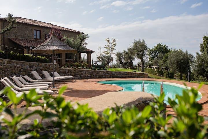 Villa dei Tramonti stunning view