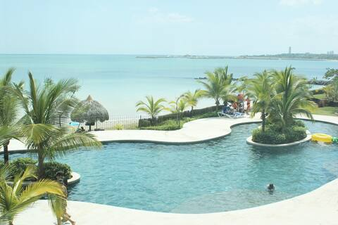Ensenada is Beach Resort ocean front San Carlos.