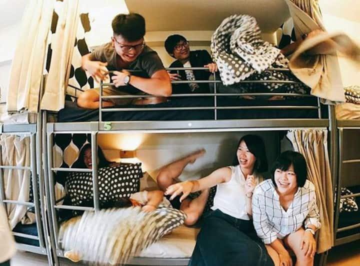 Loft18 Hostel 陳倉客棧 10人混合背包房Mix Dorm Room