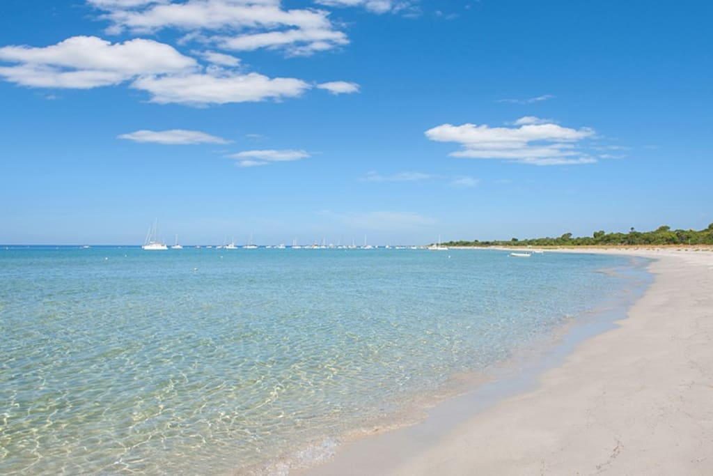 Beautiful Quindalup beach is a five minute stroll from the house