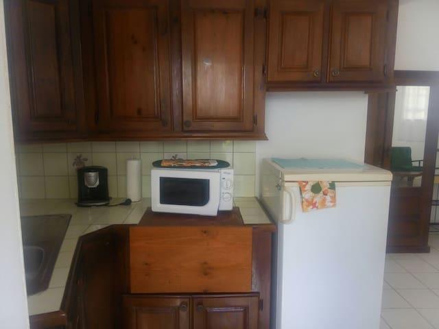 Unit two, kitchenette