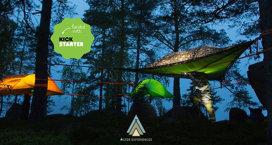 Tree Tent | Mount Laguna, Lake Cuyamaca, Julian