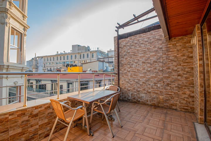 Ist Guest House #6 WithTerrace @Taksim