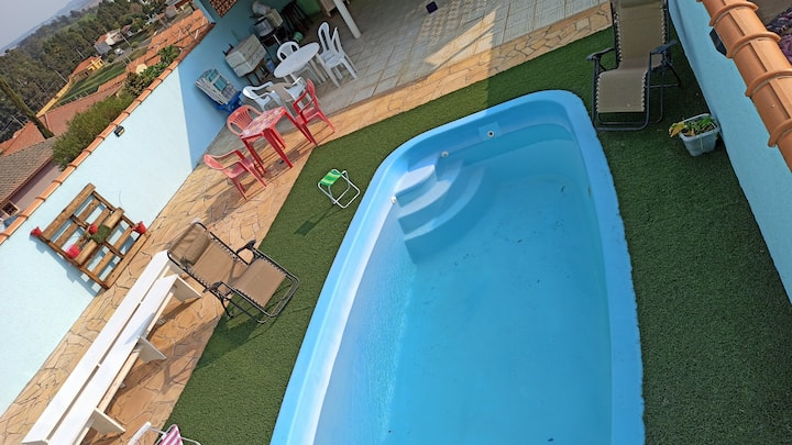 Casa completa com piscina Privativa