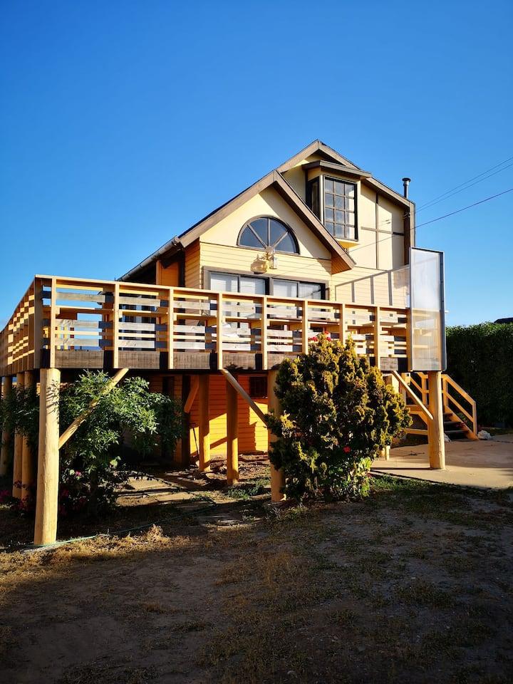 Casa completa 6 personas a 5 min de la playa