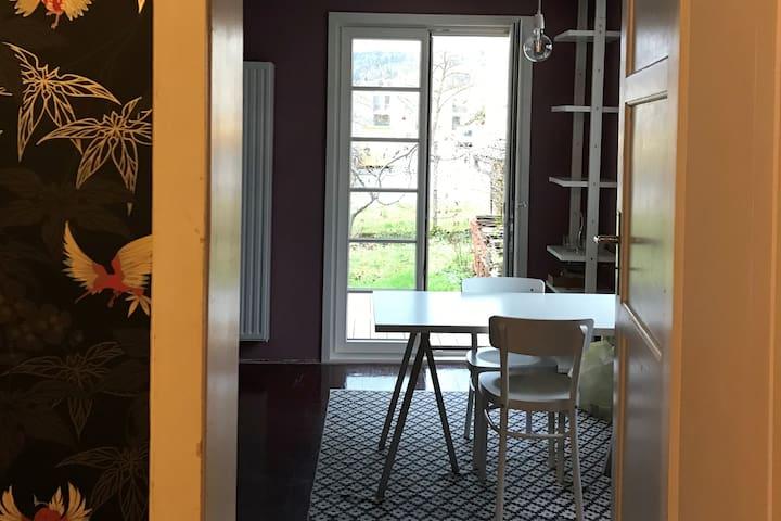 """1 Zimmer-Studio in der """"Villa Fleisch"""""""