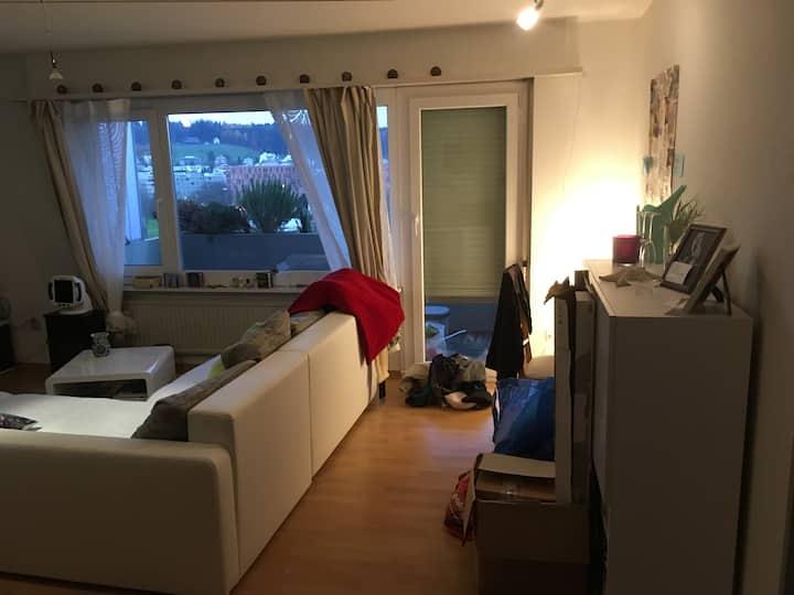 Gemütliche Wohnung mit tollen Ausblick