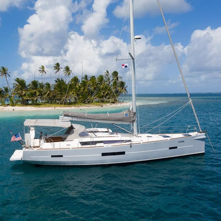 """SAN BLAS  IN  """"ALL INCLUDED"""" FIRST CLASS YACHT"""