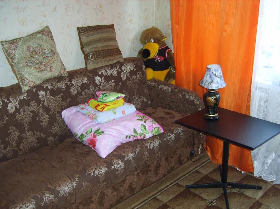 Спальня диван-кровать