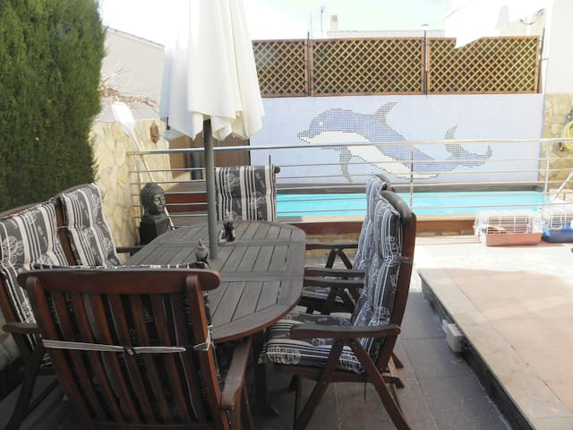 Terraced house with pool close to the beach - Alcanar - House