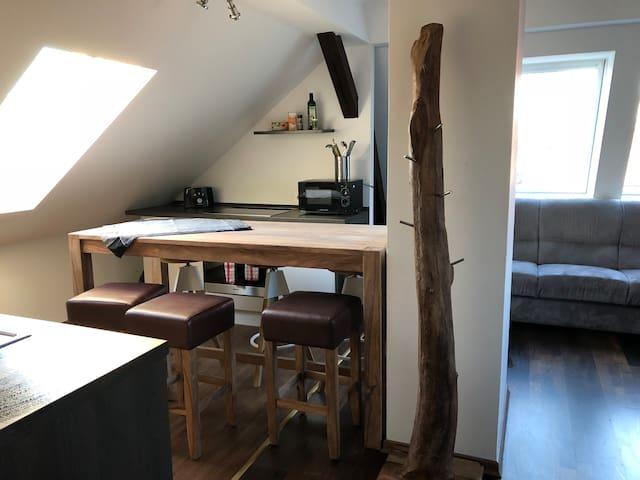 Moderne Wohnung im grünen ruhig u. hell 4 D links