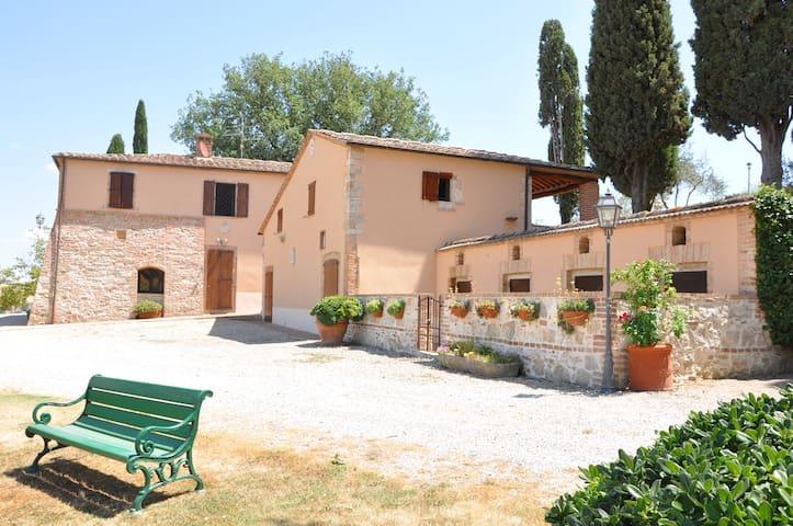 Villa Foresteria  - San Giovanni D'Asso - Dům
